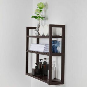 Slim Bamboo Utility Storage Shelf