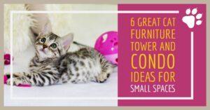 Space Saving Cat Furniture Tree Condo Ideas