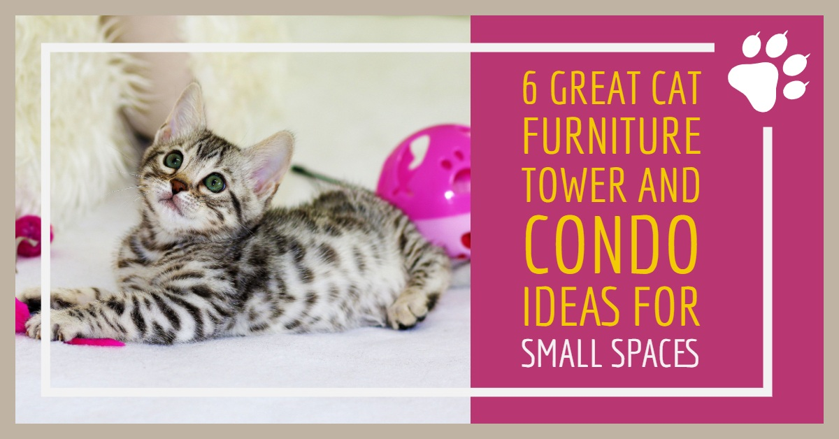 Space Saving Cat Furniture Tree Condo Ideas