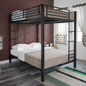 Full Over Full Metal Bunk Bed Set