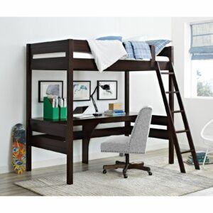 Harlan Twin Loft Bed With Desk
