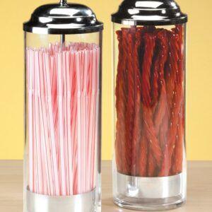 Retro Plastic Straw Dispenser