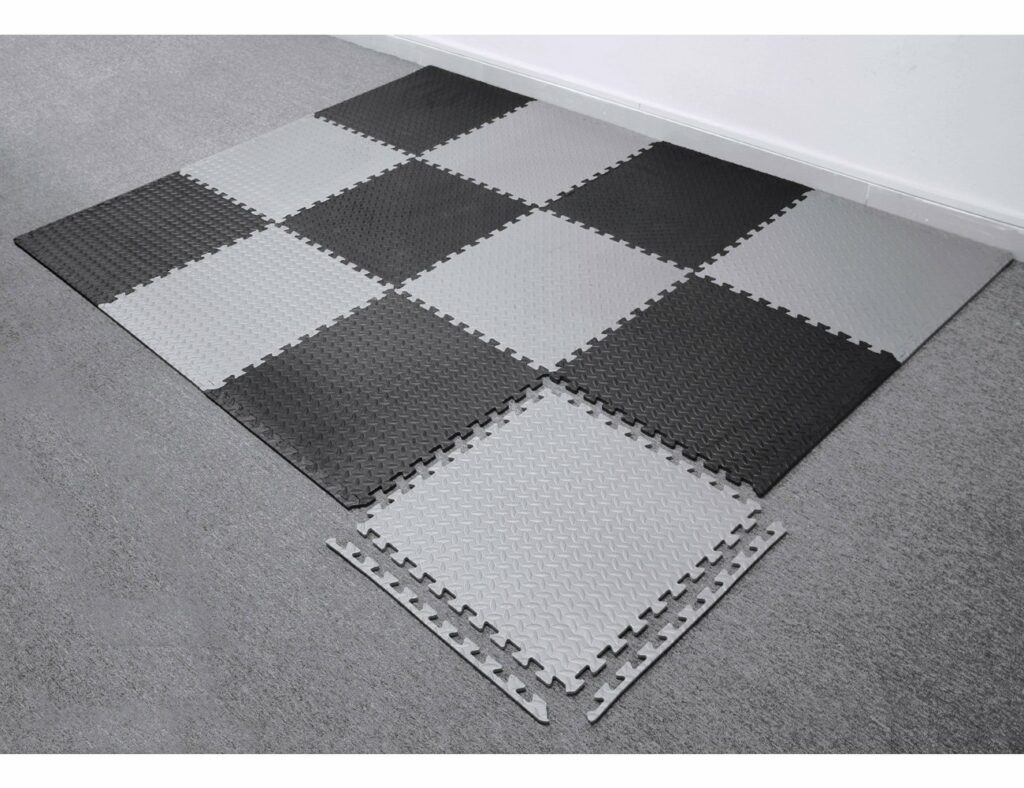 EVA Inter locking Foam Floor Tiles for Gymc