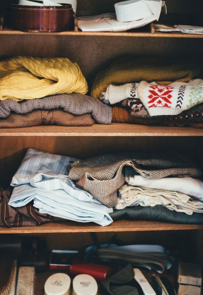 Easy DIY Home and Bedroom Closet Organization System Ideas 1