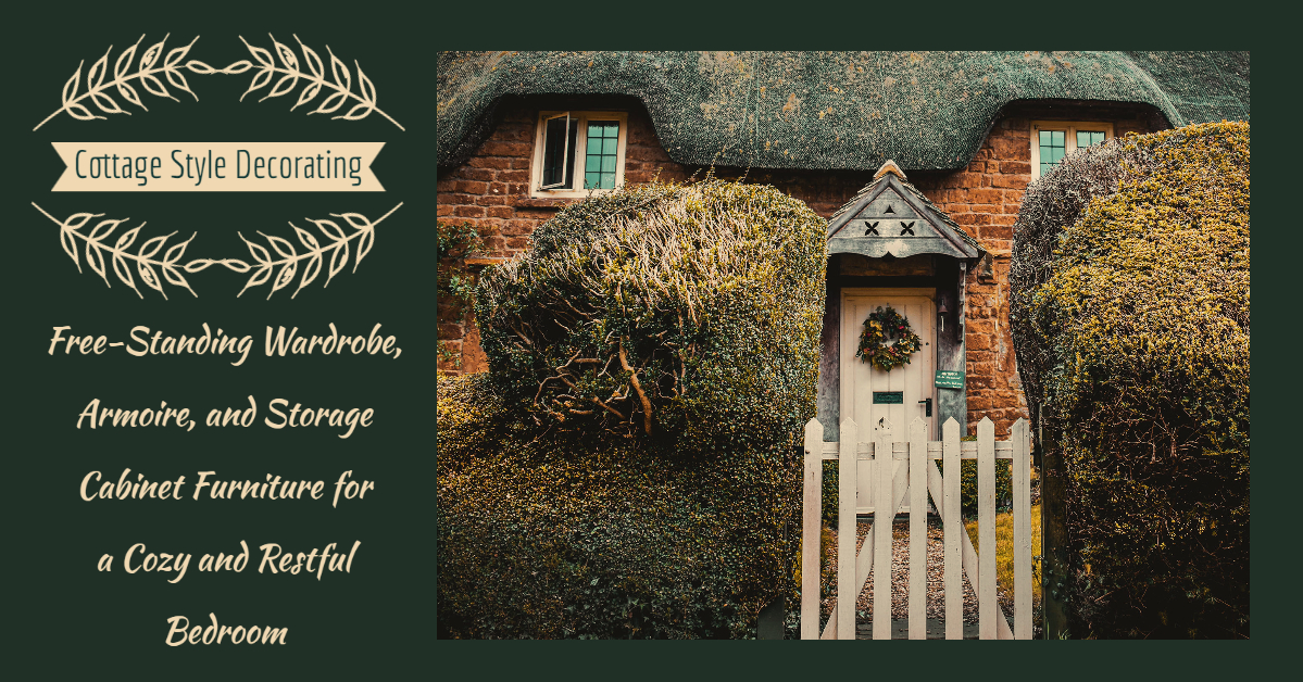 Cottage Style Bedroom Storage Header