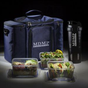 Meal Prep Insulated Lunchbox Cooler Tote Bag