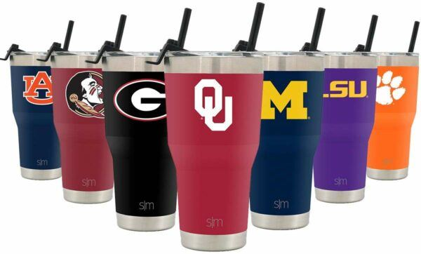 Collegiate Cruiser Tumblers With Lid And Straw
