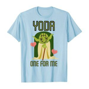 Star Wars Yoda One For Me Graphic T-Shirt