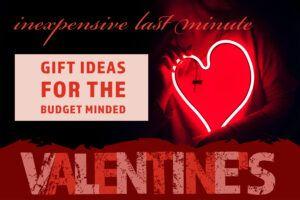 Valentines Day Gift Ideas Header