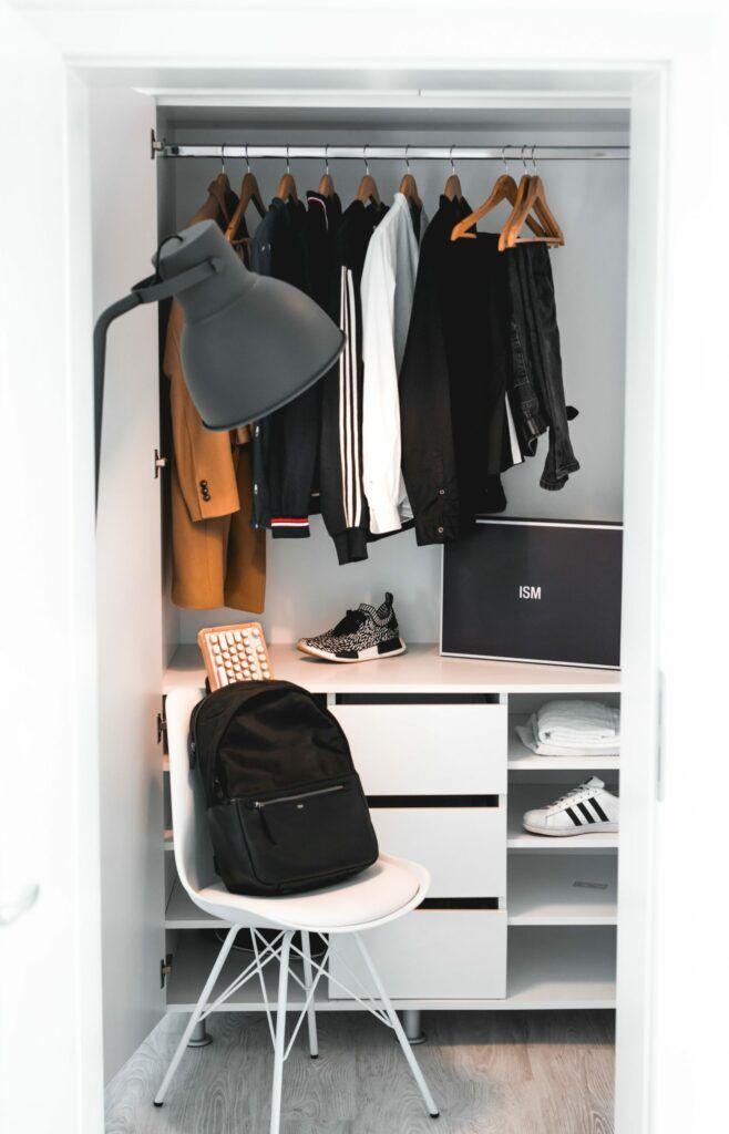Easy DIY Home and Bedroom Closet Organization System Ideas 2