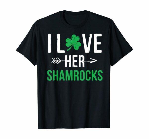 I Love Her Shamrocks Graphic T-Shirt