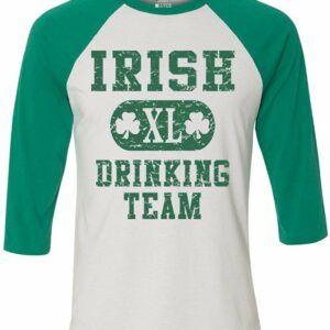 Irish Drinking Team Baseball T-Shirt