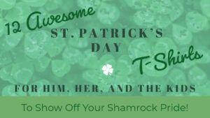 St Patricks Day Shirts Header