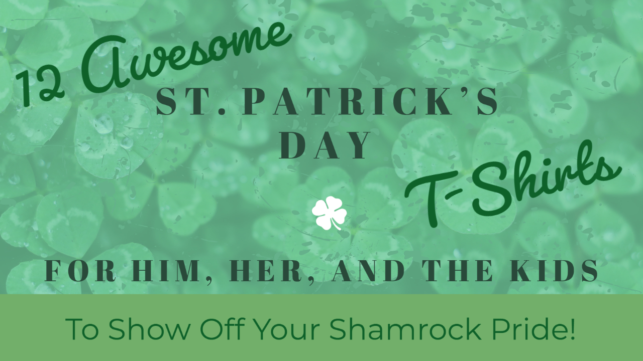 St Patricks Day Shirts Header