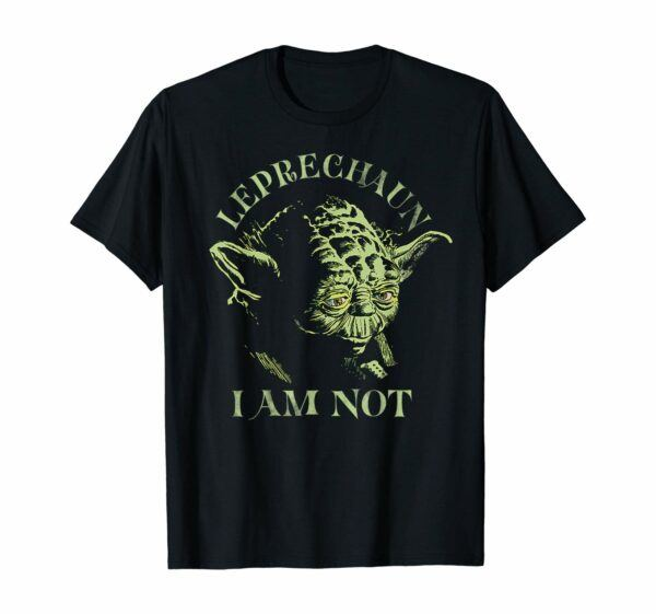 Yoda Leprechaun I Am Not T-Shirt