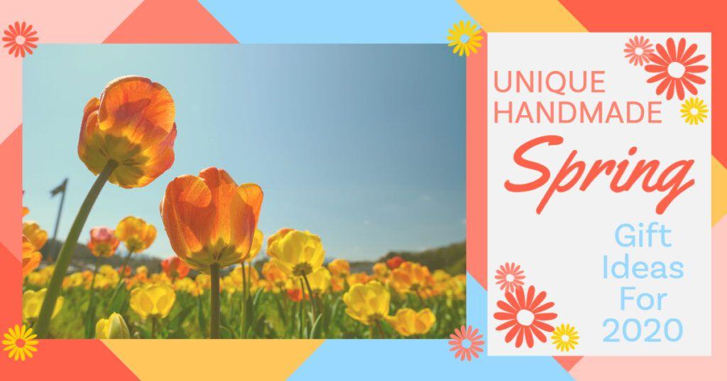 Unique Handmade Spring Gift Ideas Header