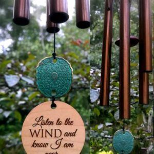 Memorial Wind Chime Sympathy Gift