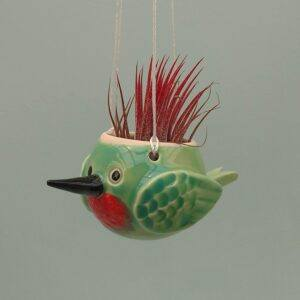 Mini Hummingbird Hanging Air Planter