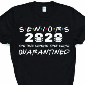 Senior Class Of 2020 Friends Parody T-Shirt