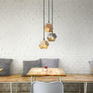 Basic Twelve Trio Geometric Pendant Lamp