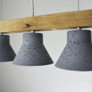 Concrete Hanging Pendant Light Fixture