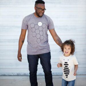 Hive and Honey Bee Matching Family Shirts Men's Gifts