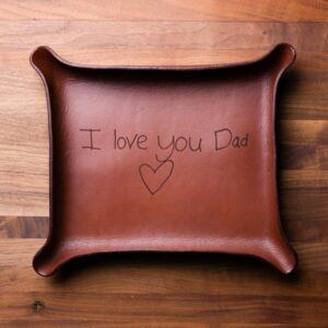 Karl Vo Artistry Personalized Leather Catchall