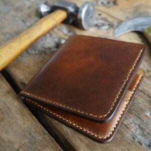 Kingsley Leather Men's Handmade Bi-fold Leather Wallet