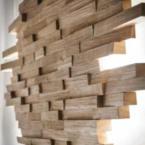 Wooden Wall Accent Light