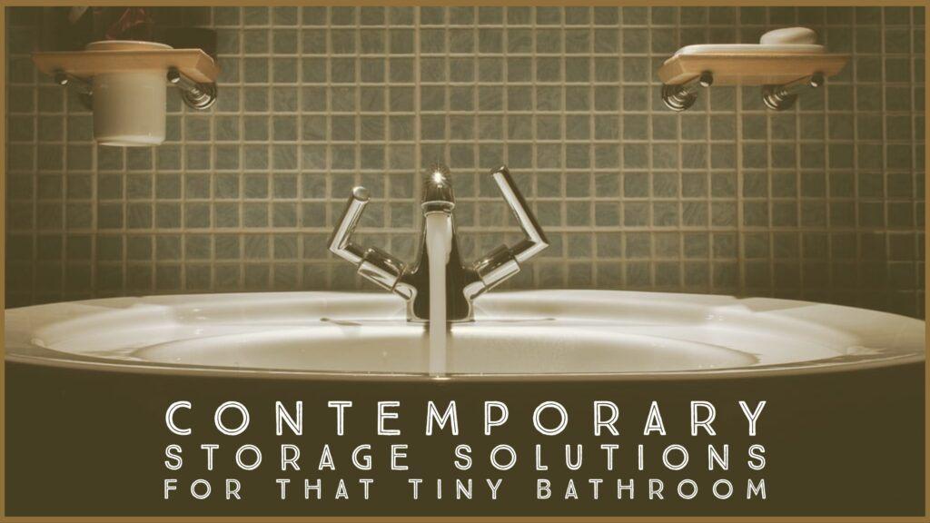 Contemporary Bathroom Storage Header
