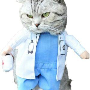 Cat Doctor Halloween Costume