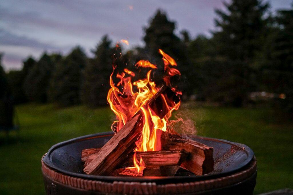 Upgrade Your Fall With A Portable Backyard Fire Pit Fire Bowl