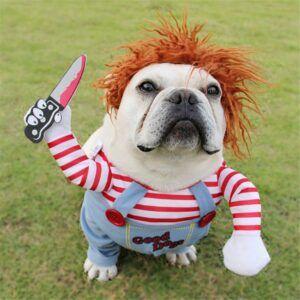 Horror Movie Halloween Dog Costume