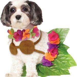 Hula Girl Pet Halloween Costume