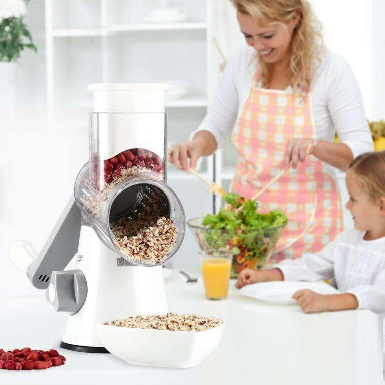 Rotary Kitchen Slicer And Grater