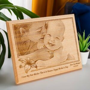 Custom Wooden Engraved Photo