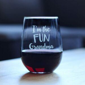 Fun Grandma Wine Glass