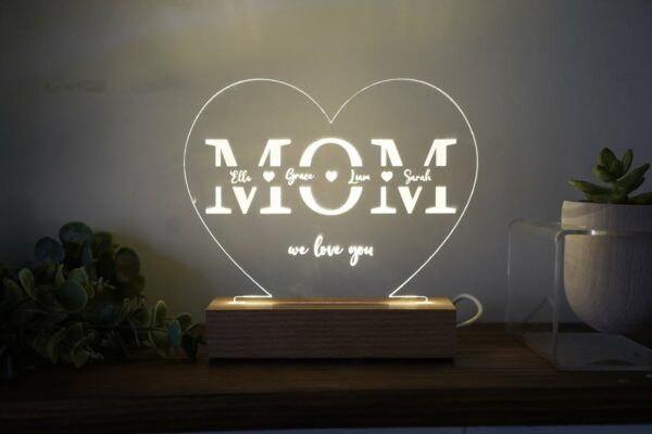 Personalized Decorative Light With Stand