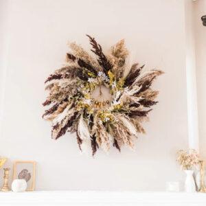 Decorative Autumn Seasonal Wreath
